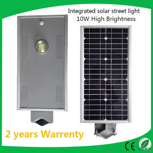 10W Motion Sensor Integrated Solar LED Street Light pictures & photos