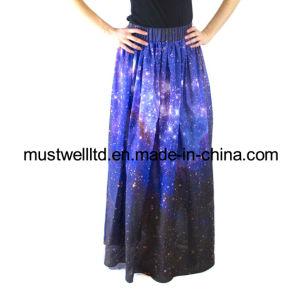 Nebula Galaxy Print Skirt (MWNGP13018)