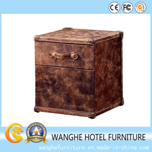 Hotel Living Room Furniture Leather Material Simple Cabinet pictures & photos