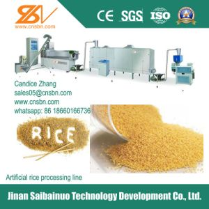 Nutritional Rice Processing Line pictures & photos