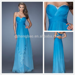 2015 Hot Sale Long Lady Party Evening Dress