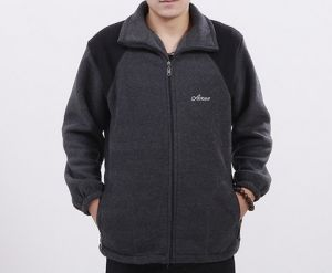 Logo Customized Men Causal Polar Fleece Jacket pictures & photos