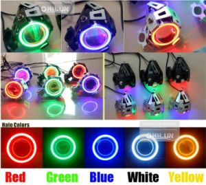 9-30V 30W U5 Laser Motorcycle LED Headlight pictures & photos