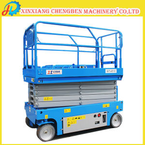 Self-Propelled Mini Lift Table with Quick Delivery Time pictures & photos