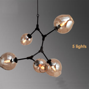 Modern Lindsey Adelman Bronze Antique Aluminum Tree Branch Glass Bubble Ball Chandelier pictures & photos