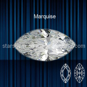 Marquise Shape Brilliant Cut Cubic Zirconia for Jewelry pictures & photos