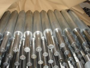 CNC Machining Knurling Shaft with Zinc Plating pictures & photos