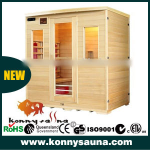 New Luxury CE Certification Indoor Far Infrared Sauna Room (KL-4S)