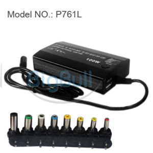 100W Universal Power Adapter With LCD USB