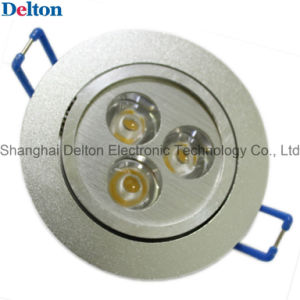 3W Aluminium Round Dimmable LED Ceiling Light (DT-TH-3F) pictures & photos