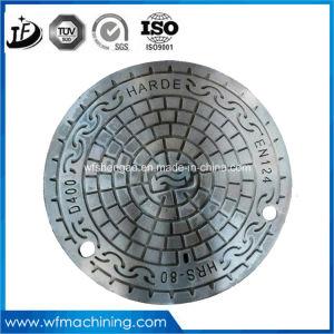 En124 B125 Ductile Iron Round Manhole Cover Cast Iron Manhole Cover Round Ductile Iron Manhole pictures & photos