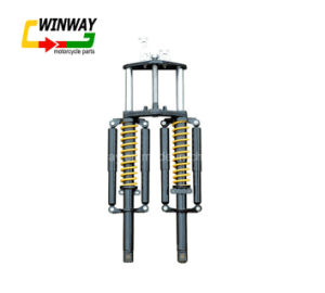 Ww-6132 Front Fork Assembly, 3-Wheel Shock Absorber pictures & photos