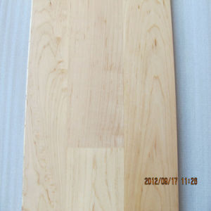 Rustic Style 4mm Toplayer 3 Strip Heating Maple Flooring/Maple Wood Flooring pictures & photos