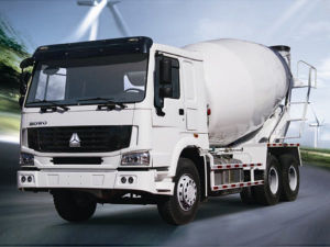 10cbm Sinotruk HOWO 6X4 Mixer 336HP Concrete Mixer Truck 10m3
