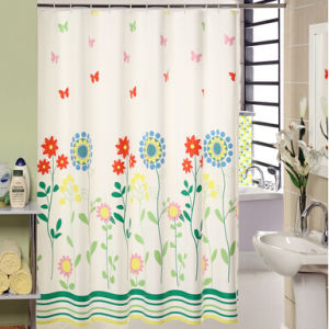 Customer Printing Shower Curtains 180*180cm pictures & photos