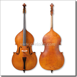 Handmade Spirit Varnish Carved Spruce Double Bass (VDB220) pictures & photos