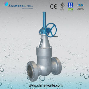 Power Station Gate Valve Wcb 300lb Dn300 pictures & photos