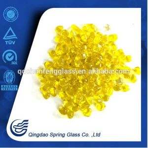 Swimming Pool Decorative Yellow Glass Beads pictures & photos