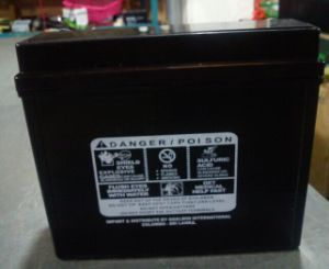Cp9l-BS 12V9ah Maintenance Free Sealed Lead Acid Motorcycle Battery pictures & photos
