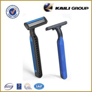 Triple Blade Disposable Shaving Razor, Compete (KL-321L) pictures & photos