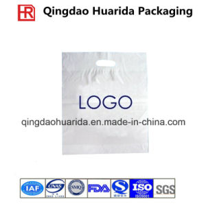 Biodegradable LDPE Custom Plastic Die Cut Handle Shopping Bag pictures & photos