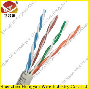 1000ft 24awgx4p Solid UTP Cat5e LAN Cable