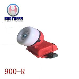 Red Plastic Outdoor 3AA LED Headlamp pictures & photos