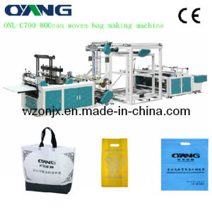 Full Automatic Non Woven Fabric Carry Shopping Bag Making Sealing Machine Price pictures & photos