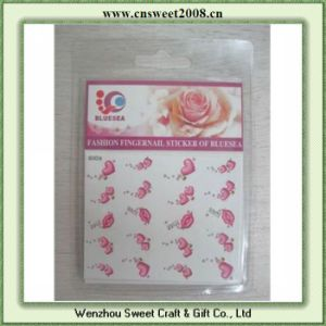 Custom Logo Self Adhesive Sticker PVC Sticker (S2P030) pictures & photos