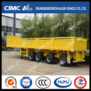 Cimc Huajun Popular Type of Stake Cargo Trailer in Africa pictures & photos