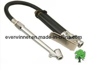 New PRO Air Line Tyre Inflator Pump with Pressure Gauge pictures & photos