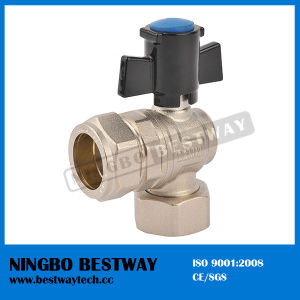 Brass Lockable Radiator Ball Valve (BW-L25) pictures & photos