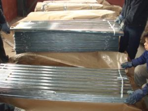 Corrugated Gi Galvanized Steel Sheet (1211) pictures & photos