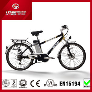 "26"" 36V MTB Lithium Electric City Bicycle with En15194 Certification pictures & photos"
