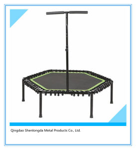 40-Inch Diameter Fitness Trampoline with Adjustable Stability Bar pictures & photos