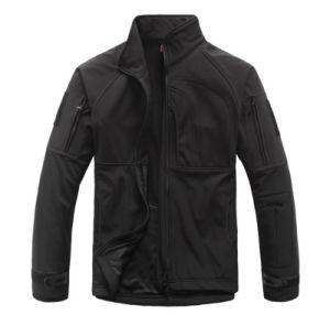 Outdoor Shakeskin Commander Waterproof Jacket Autumn Winter Windproof Men′s Coat pictures & photos