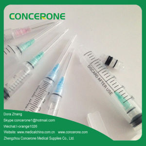 Safety Auto Disable/Retraction Needle Syringe/Retraction Type Safety Syringes pictures & photos