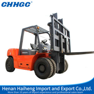 New 7 Ton Cpcd70 Hydraulic Diesel Forklift Truck Left Fork Lift, Fork Lifter pictures & photos
