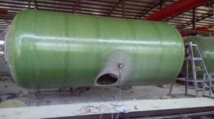 FRP GRP Corrosion Resistant Pressure Tank Fuel Storage Tank pictures & photos