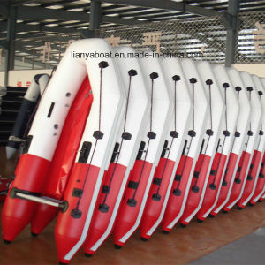 Liya Foldable Inflatable Boat PVC Rubber Boat China for Sale pictures & photos