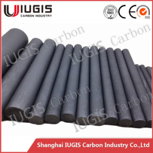 Good Lubrication China Manufacturer Black Graphite Rod for Semiconductor pictures & photos