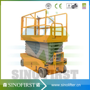 6m Self Propelled Hydraulic Scissor Lift Aerial Working Platform Lifter pictures & photos