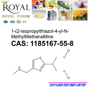 1-(2-Isopropylthiazol-4-Yl-N-Methylmethanamine CAS: 1185167-55-8, Intermediate of Ritonavir pictures & photos