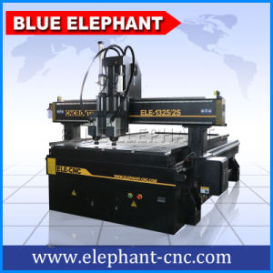 1325 2 Heads CNC Router, Furniture Making Machinery, Router CNC Woodworking with Air Cylinder pictures & photos