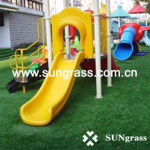 Synthetic Turf Carpet for Playground or Landscape (SUNQ-HY00019) pictures & photos