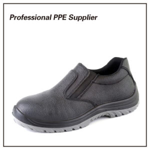 High Quality Waterproof No Lace Safety Shoe pictures & photos
