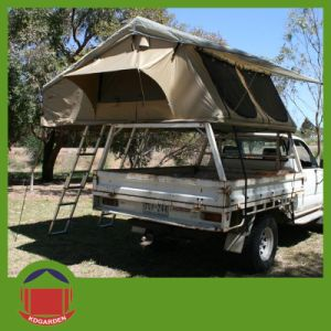 Car Top Camper Roof Top Tent   2 4 Person Private Entry Tent