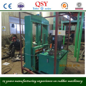 Tire Cutting Machine of Vertical Type Rubber Sheet Cutter pictures & photos