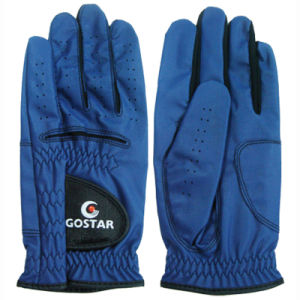 2015 New PU Synthetic Leather All Weather Golf Glove (PGL-43) pictures & photos
