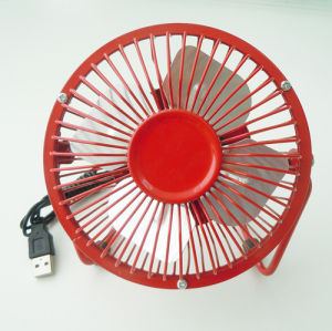 2014 Hot Sell USB Metal Fan pictures & photos